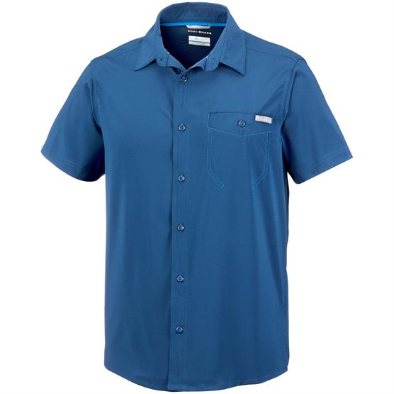 Image of   Columbia Triple Canyon Solid S/S Shirt Mens, Carbon