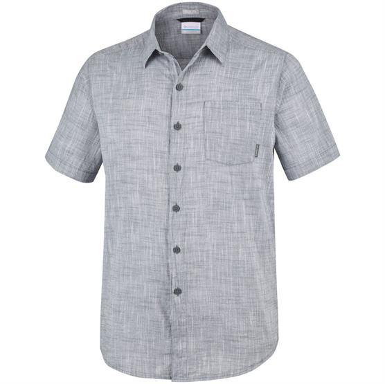 Image of   Columbia Under Exposure YD Short Sleeve Shirt Mens, Graphite