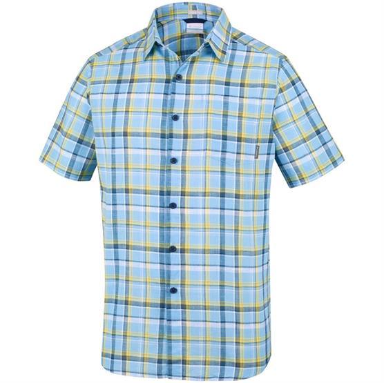 Image of   Columbia Under Exposure YD Short Sleeve Shirt Mens, Blue Sky