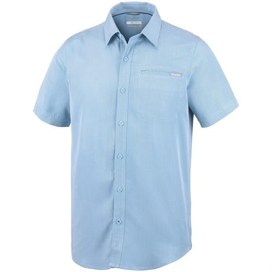 Image of   Columbia Nelson Point Short Sleeve Shirt Mens, Air