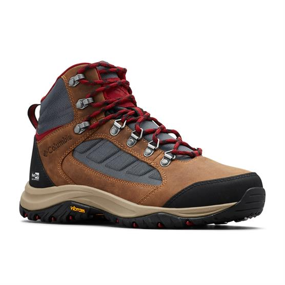 Image of   Columbia 100MW Mid Outdry Womens, Graphite / Beet