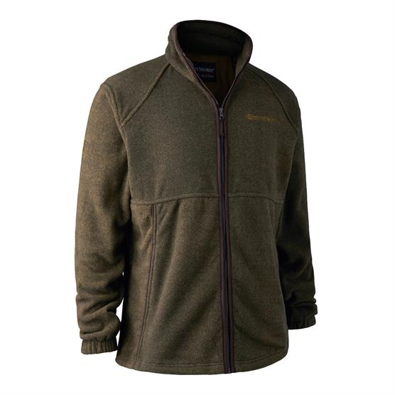 Image of   Deerhunter Wingshooter Fleece Jacket, Graphite Green