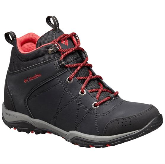 Image of   Columbia Fire Venture Mid Leather Waterproof Womens, Black
