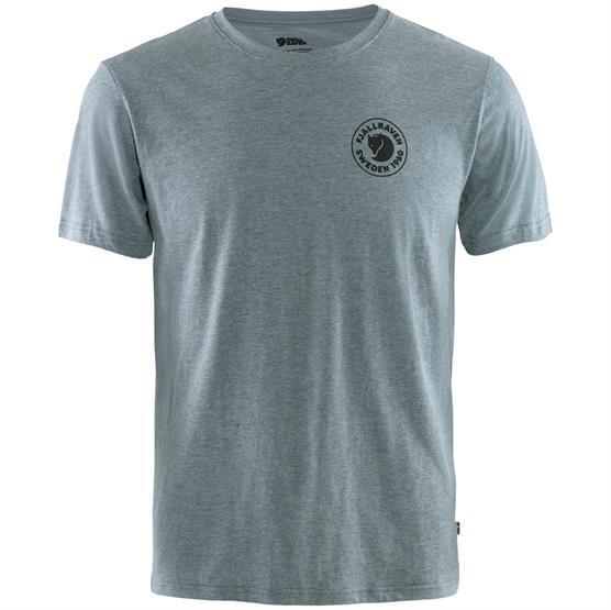 Image of   Fjällräven 1960 Logo T-Shirt Mens, Uncle Blue / Melange