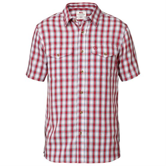Image of   Fjällräven Abisko Cool Shirt S/S Mens, Red