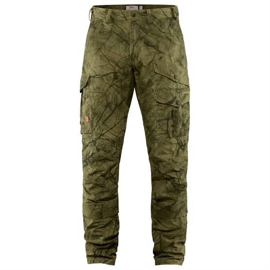 Fjällräven Barents Pro Hunting Trousers Mens, Green Camo