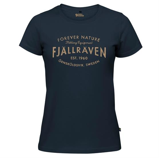 Image of   Fjällräven Est 1960 T-Shirt Womens, Navy