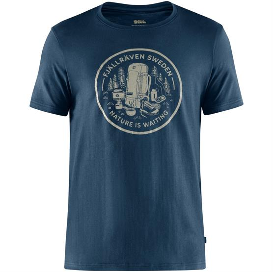 Image of   Fjällräven Fikapaus T-Shirt Mens, Navy