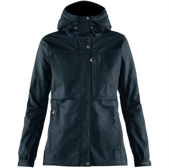 Image of   Fjällräven Kaipak Jacket Womens, Dark Navy
