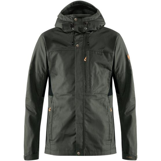 Image of   Fjällräven Kaipak Jacket Mens, Dark Grey / Black
