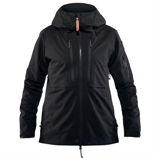 Image of   Fjällräven Keb Eco-Shell Jacket Womens, Black