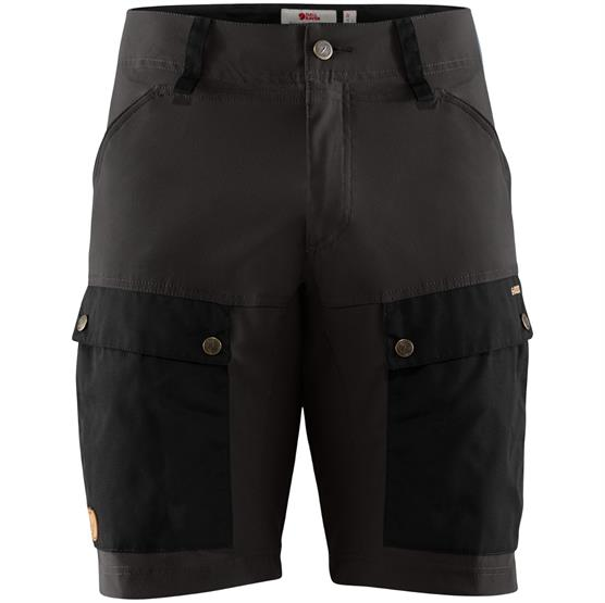 Image of   Fjällräven Keb Shorts Mens, Black / Stone Grey