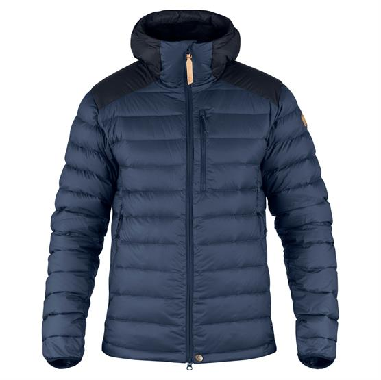 Image of   Fjällräven Keb Touring Down Jacket Mens, Storm / Night Sky