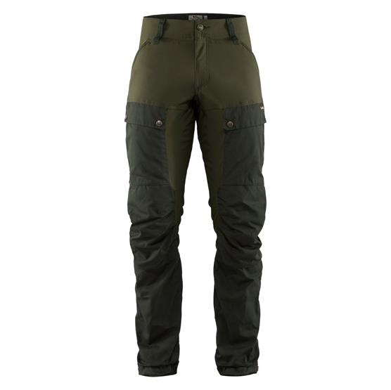 Image of   Fjällräven Keb Trousers Mens, Deep Forest / Laurel Green