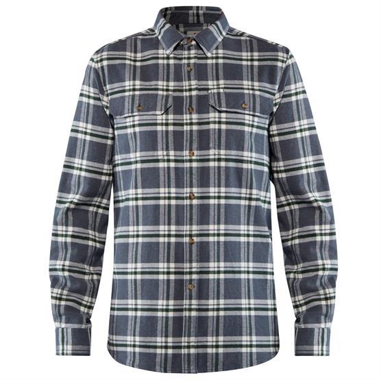 Image of   Fjällräven Övik Heavy Flannel Shirt Mens, Dusk