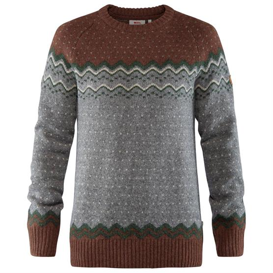 Image of   Fjällräven Övik Knit Sweater Mens, Autumn Leaf