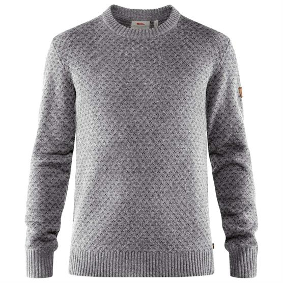Image of   Fjällräven Övik Nordic Sweater Mens, Grey