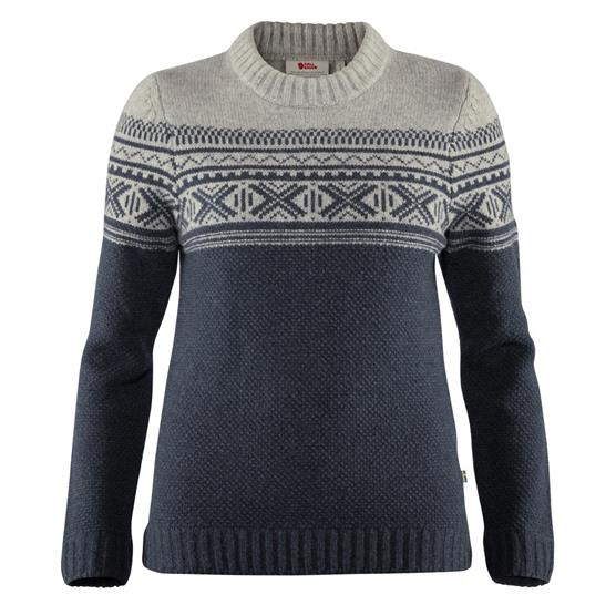 Image of   Fjällräven Övik Scandinavian Sweater Womens, Navy
