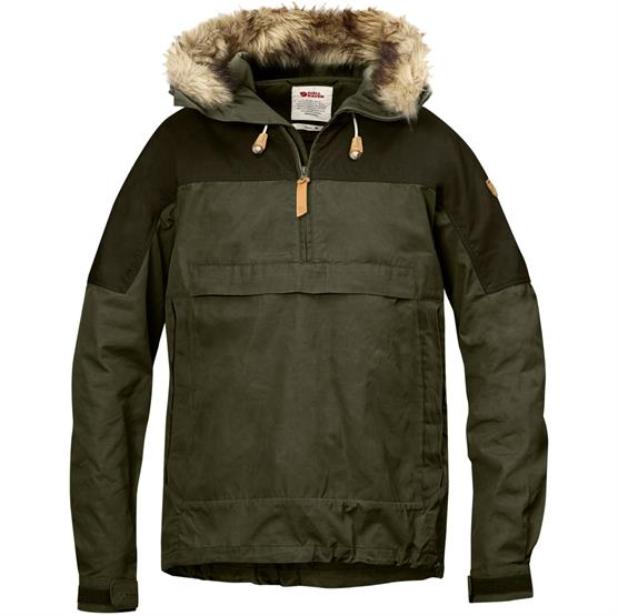 Image of   Fjällräven Singi Anorak Mens, Laurel Green / Deep Forest
