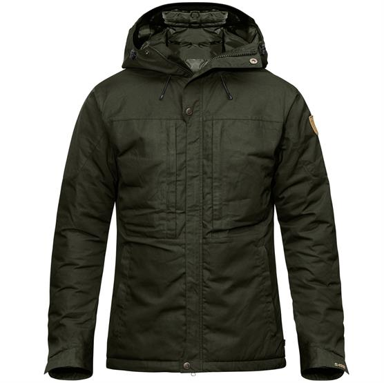 Image of   Fjällräven Skogsö Padded Jacket Mens, Deep Forest
