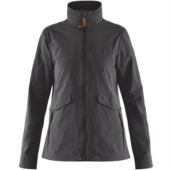 Image of   Fjällräven Travellers MT Jacket Womens, Dark Grey