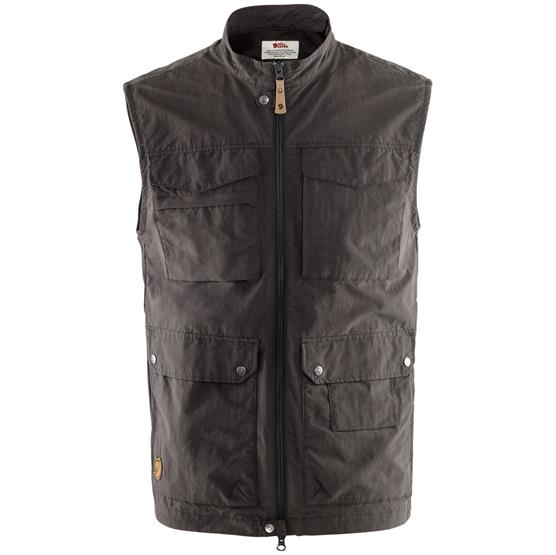 Image of   Fjällräven Travellers MT Vest Mens, Dark Grey