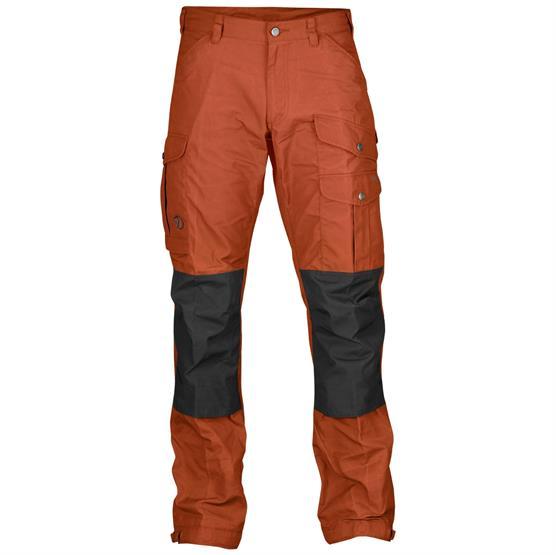 Image of   Fjällräven Vidda Pro Trousers Mens, Autumn Leaf / Stone Grey
