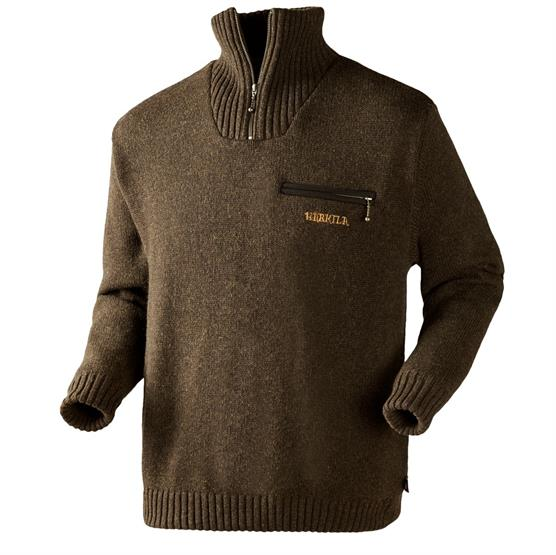 Image of   Härkila Annaboda Sweater, Demitasse Brown Melange