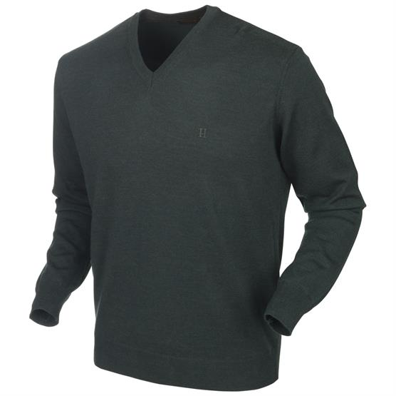 Image of   Härkila Glenmore Pullover, Deep Forest Green