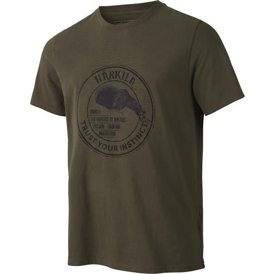 Image of   Härkila Wildlife Bear T-Shirt, Willow Green