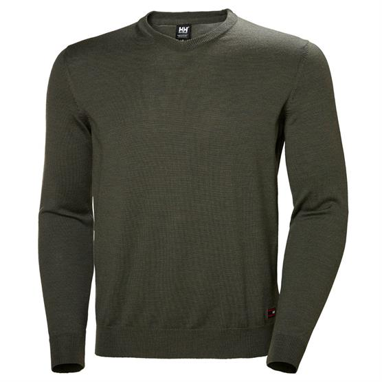 Image of   Helly Hansen Mens Skagen Merino Sweater, Forest Night