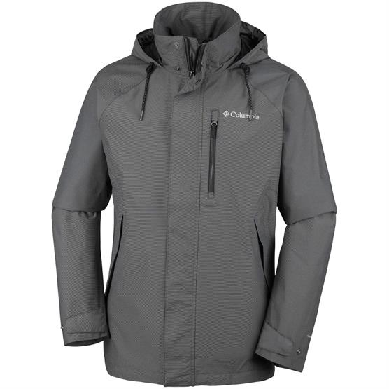 Image of   Columbia Good Ways II Jacket Mens, Black Heather