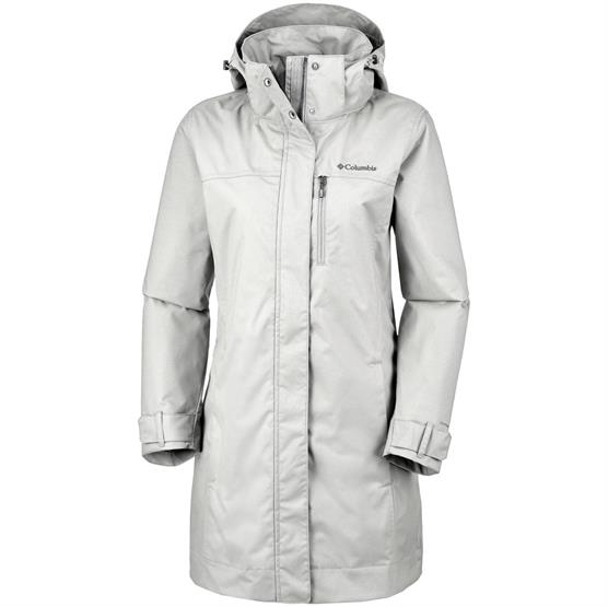Image of   Columbia Hideaway Creek Jacket Womens, Flint Grey