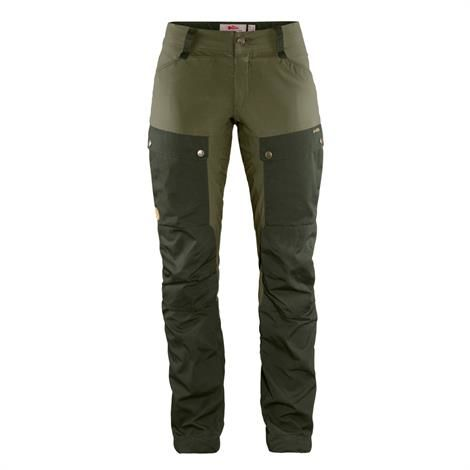 Billede af Fjällräven Keb Curved Trousers Womens, Deep Forest / Laurel