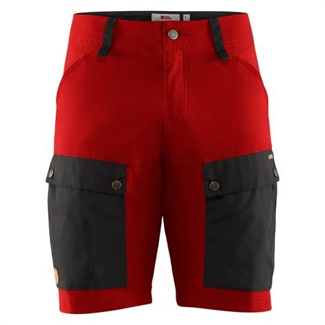 Image of   Fjällräven Keb Shorts Mens, Stone Grey / Lava