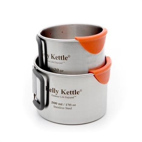 Kelly Kettle Camping Cup Set - 350 og 500 ml