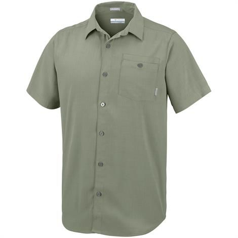 Image of   Columbia Mossy Trail Short Sleeve Shirt Mens, Cypress