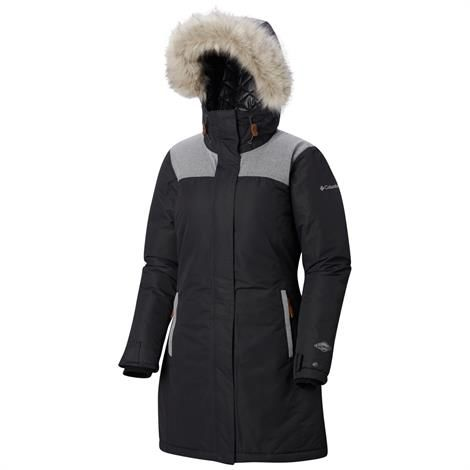 Image of   Columbia Lindores Jacket Womens, Black / Shark