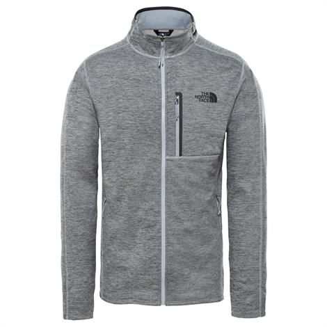 Image of   The North Face Mens Canyonlands Full Zip, Grey Heather