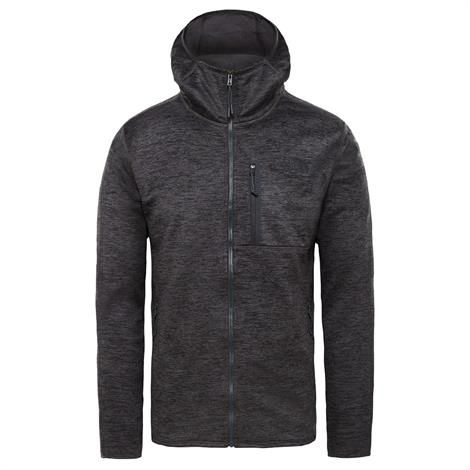 Image of   The North Face Mens Canyonlands Hoodie, Dark Grey Heather