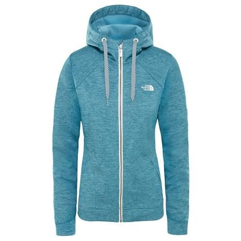 Image of   The North Face Womens Kutum Full Zip Hoodie, Storm Blue