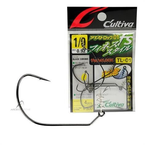 Image of   Owner Cultiva TL-01 Softbait Krog med Twistlock