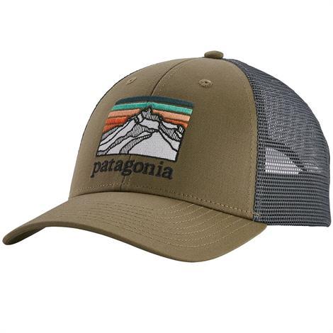 Image of   Patagonia Line Logo Ridge LoPro Trucker Hat