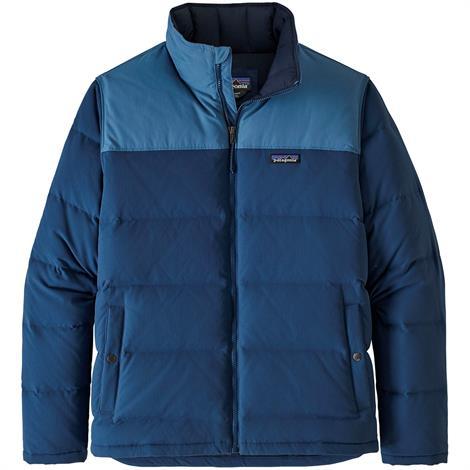 Image of   Patagonia Mens Bivy Down Jacket, Stone Blue