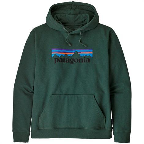 Image of   Patagonia Mens P-6 Logo Uprisal Hoody, Alder Green