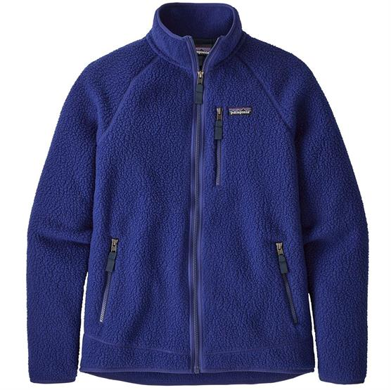 Image of   Patagonia Mens Retro Pile Jacket, Cobalt Blue