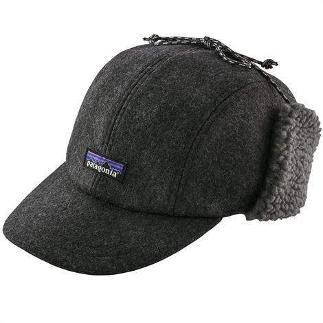 Image of   Patagonia Recycled Wool Ear Flap Cap
