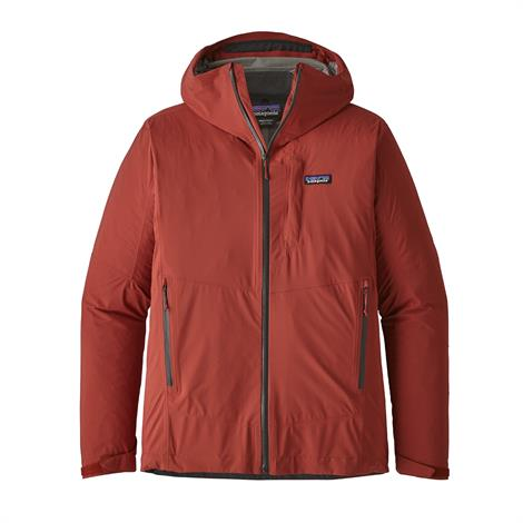 Image of   Patagonia Mens Stretch Rainshadow Jacket, New Adobe