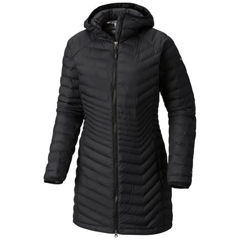 Image of   Columbia Powder Lite Mid Jacket Womens, Black