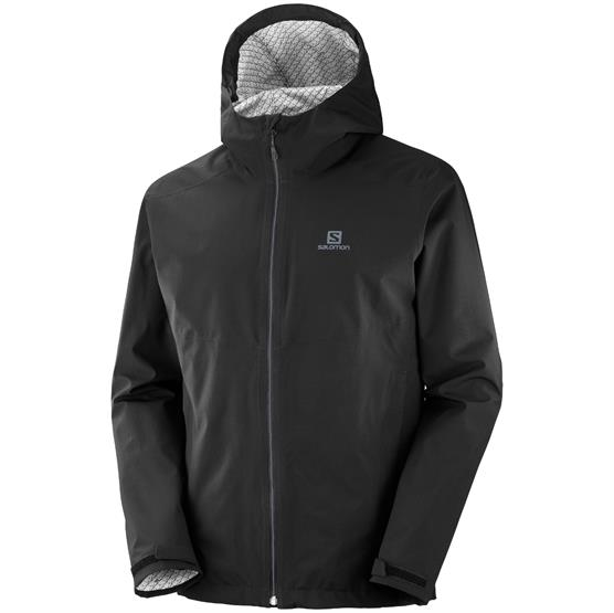 Image of   Salomon La Cote Flex 2.5L Jacket Mens, Black